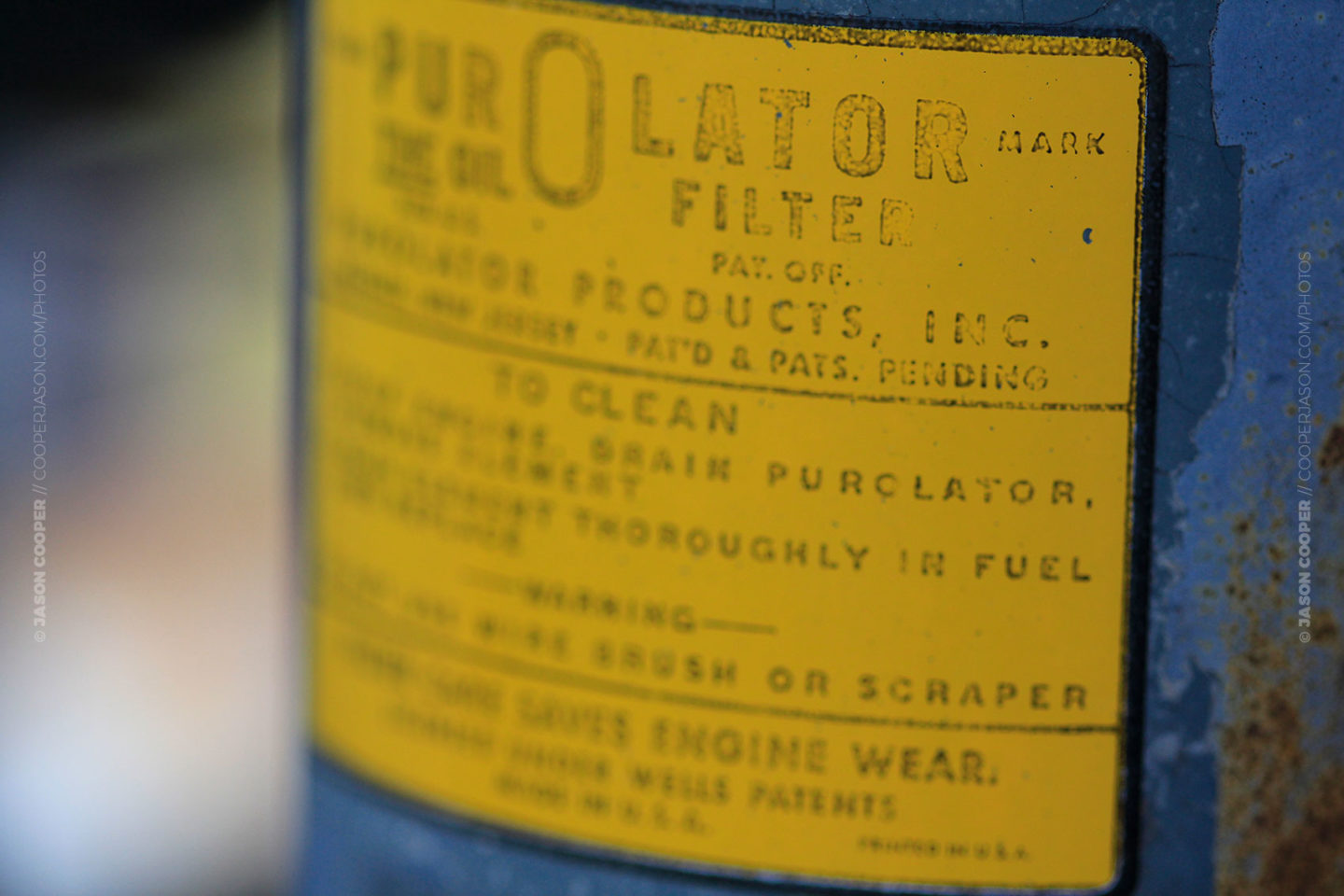 Purolator Filter Photography By Jason Cooper Fuel Filters